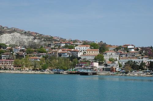 Balchik an der bulgarischen Schwarzmeerküste