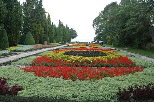 Balchik, Der Botanische Universitätsgarten
