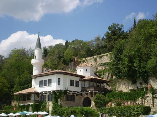 Urlaub in Balchik, Das Kulturzentrum im Schloss