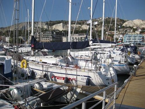 Der Jachthafen von Balchik