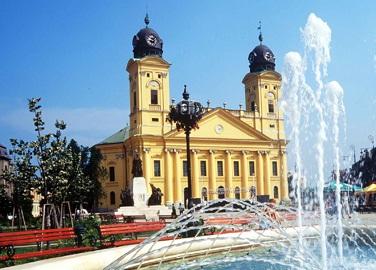 Debrecen als regionales Zentrum