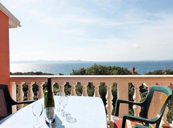 Private Ferienwohnungen am Meer in Zadar
