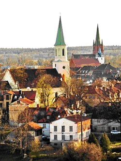 Kuldiga, die älteste Stadt der Region Kurland