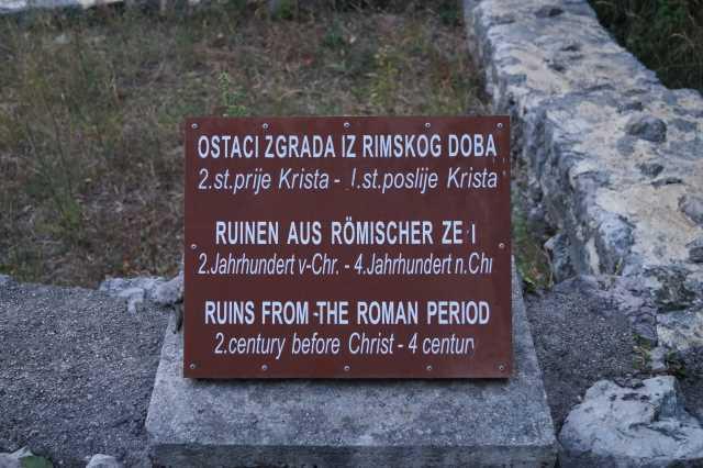 Urlaub in Jadranovo, wie die alten Römer direkt am Meer