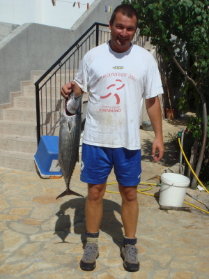 Fischen in der Adria - buchen Sie eine Angeltour bei Joso