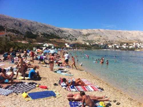 Urlaub in Novalja mit Party am Strand Zrce auf der Insel Pag