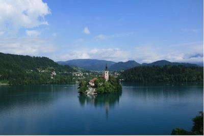 Bled - einer der schönsten Alpenferienorte in Slowenien