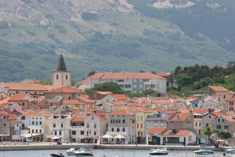 Atostogoms nuomojami butai Die Apartments befinden sich in der Nähe des Zentrums von Baška und dem Strand, Baška, Insel Krk Kvarner Bucht Inseln Kroatija