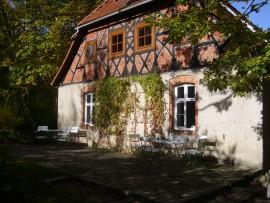 Chata, chalupa Grimms Waldhaus am Kyffhäuser, Brücken (Helme), Harz Sachsen-Anhalt Německo