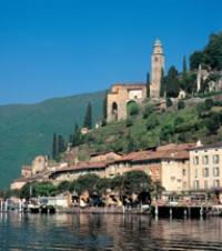 Appartamento di vacanze , Lago Vico Morcote, Lago Maggiore Tessin Svizzera