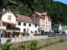 Pensionas OÁZA, Hrensko, Böhmische Schweiz Böhmische Schweiz Čekija