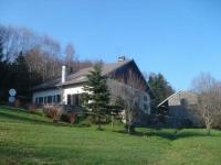 Kaimiško stiliaus namas , La Forge, Vogesen Lothringen Prancūzija