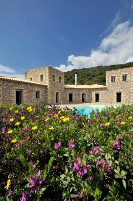 Vila Natursteinvilla, Mani, Messinia Peloponnes Graikija