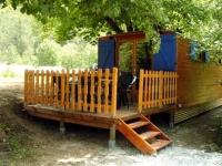 Mobile-home Chalet auf Reiterhof, La Motte du Caire, Alpes de Hautes Provence Provence-Alpes-Côte d Azur France