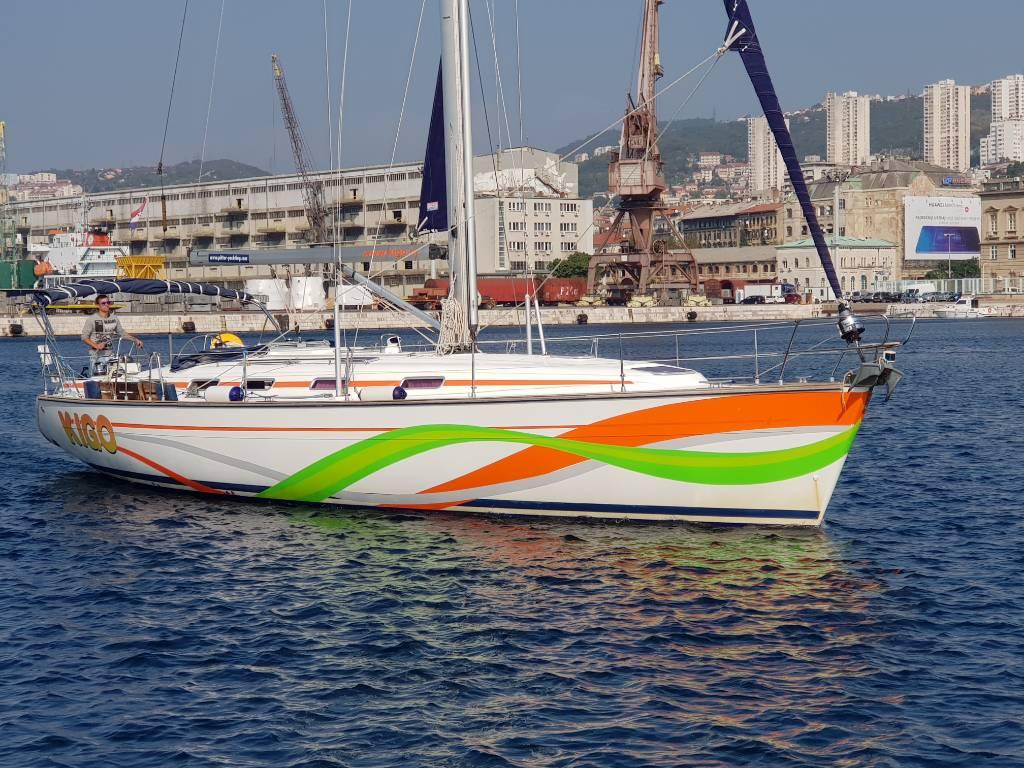 čln Jedrilica Bavaria 49 Kigo, Rijeka, Rijeka Kvarner Bucht Festland Chorvátsko