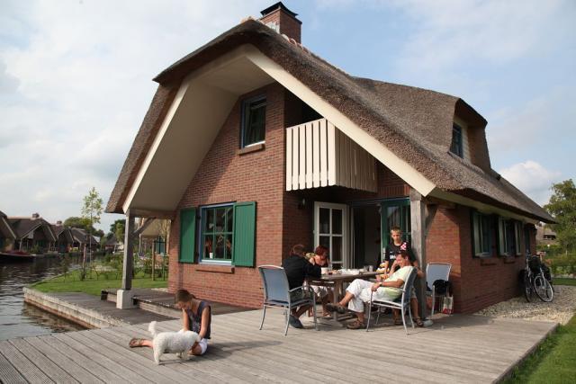 prázdninový dom Typ Gaarde, Wanneperveen, Giethoorn Overijssel Holandsko
