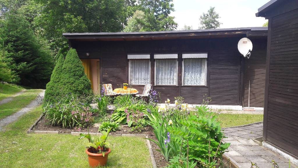 Atostogoms nuomojami namai 2 Ferienhäuser/ Bungalow Ritter     , Bärenstein / Niederschlag, Erzgebirge Sachsen Vokietija