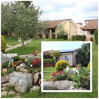 Atostogoms nuomojami namai Residence Lorena   Porec  fur 2 - 4 Personen mit Salzwasser-Pool und Klimaanlage, Porec, Porec Istrien Nordküste Kroatija