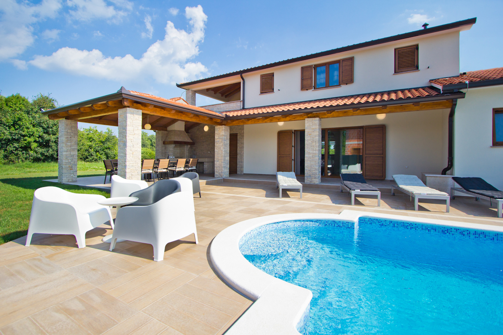 Atostogoms nuomojami namai Villa MATTINA - Ferienhaus in Nedešćina, 8+2 Personen, 4 Schlafzimmer mit Badenzimmer, Nedescina, Labin Istrien Südküste Kroatija