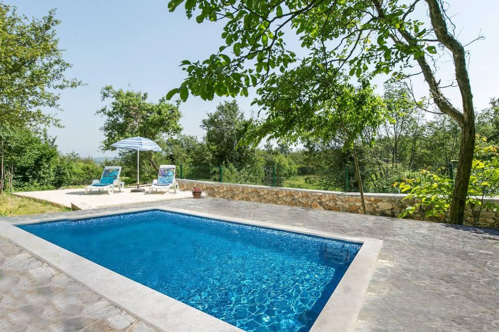 Atostogoms nuomojami namai Haus auf dem Dorf, für Menschen, die die Natur lieben und Ruhe suchen., Bartici, Labin Istrien Südküste Kroatija