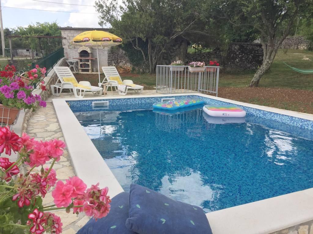 prázdninový dom Haus auf dem Dorf, für Menschen, die die Natur lieben und Ruhe suchen., Bartici, Labin Istrien Südküste Chorvátsko