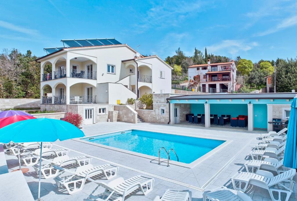 Maison de vacances Villa Vires, Labin, Labin Istrien Südküste Kroatie