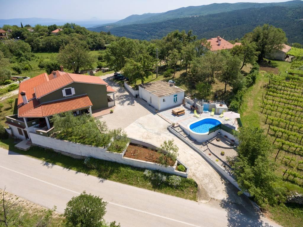 prázdninový dom House Ria - ein gemütliches Familienhaus ideal für Familien mit Kindern oder Gruppen von Freunden!, Gondolici, Labin Istrien Südküste Chorvátsko