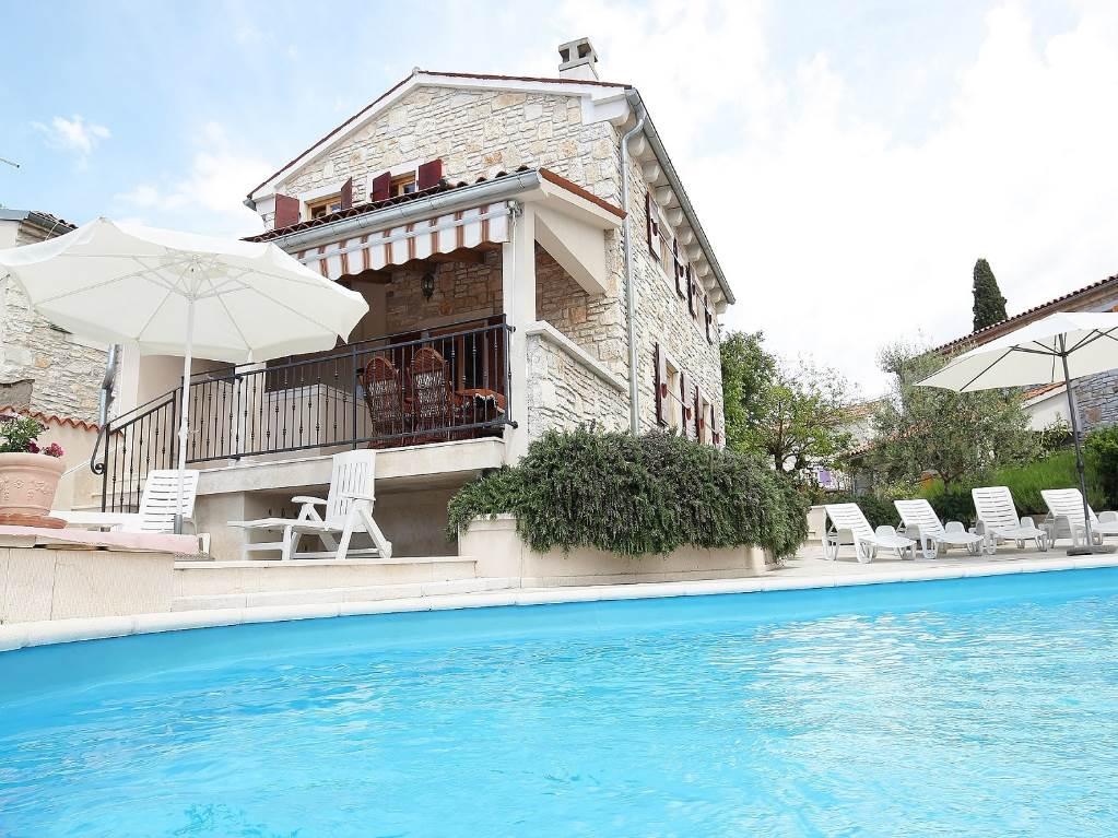 Maison de vacances Schoenes und gemuetliches istrianisches Steinhaus , Kanfanar, Rovinj Istrien Südküste Kroatie