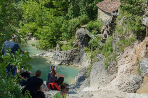 Atostogoms nuomojami namai Stone House Kotli, Kotli, Buzet Istrien Zentral Kroatija