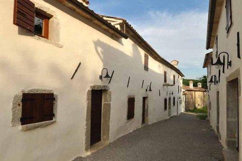 Atostogoms nuomojami namai  Ferienhaus Stone House kotli, Kotli , Buzet Istrien Zentral Kroatija