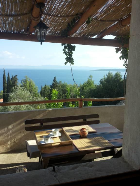 Atostogoms nuomojami namai Ferienhaus - Traditionelles dalmatinisches Steinhaus fuer die Ferien in ruhiger Umgebung., GROMIN DOLAC, Insel Hvar Mitteldalmatien Kroatija