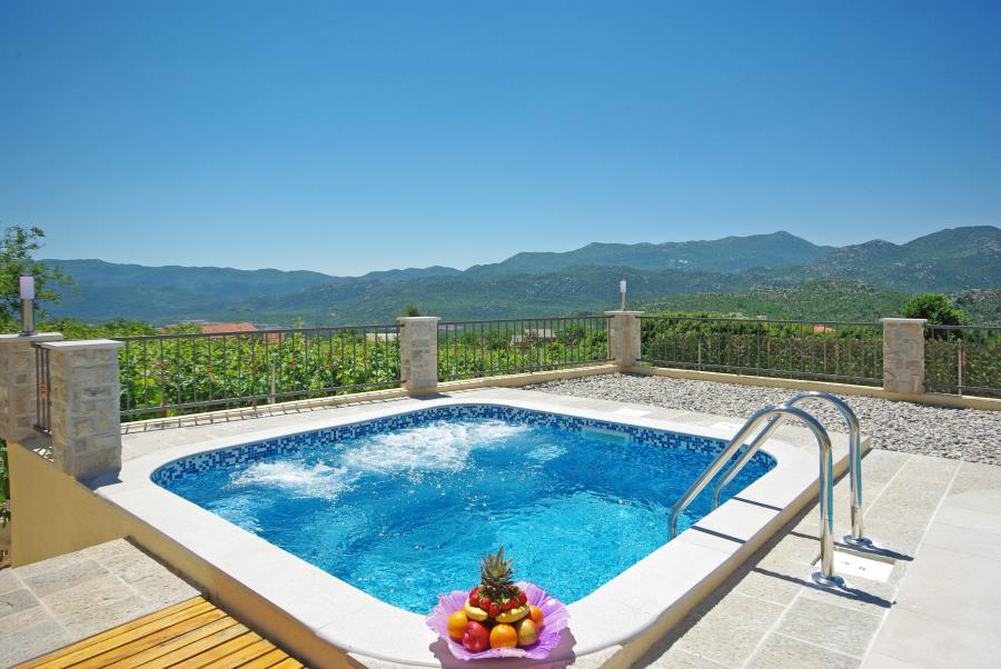 willa Villa Antonija, mit beheiztem Schwimmbad mit Massage, Zavojane, Makarska Riviera Mitteldalmatien Chorwacja