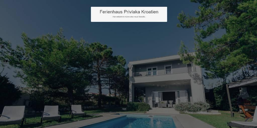 Maison de vacances mit Pool, 200 Meter zum Meer, eigener Kinderspielplatz etc., Privlaka, Vir, Nin, Zaton, Privlaka Norddalmatien Kroatie