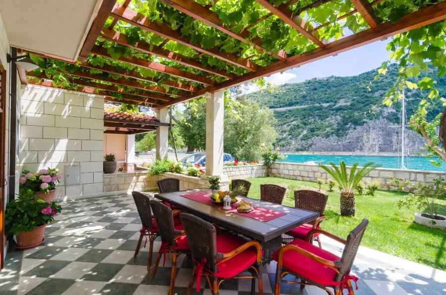 Villa Ponta am Meer, mit pool, ideal für familienurlaub, Dubrovnik-Mokosica, Dubrovnik Süddalmatien Kroatie