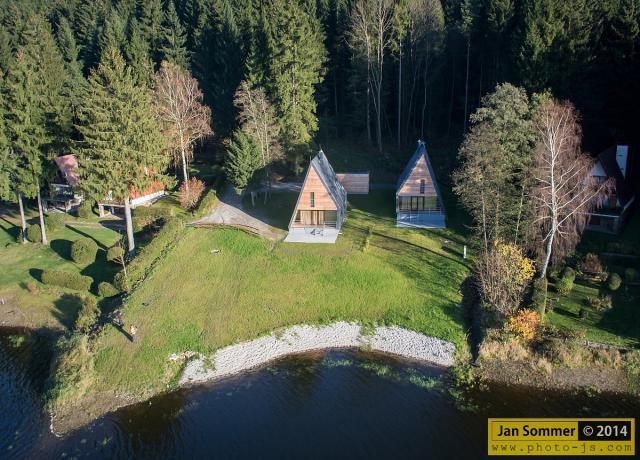 prázdninový dom LIPNO 001, Frymburk, Lipno Stausee Lipno Stausee Česko