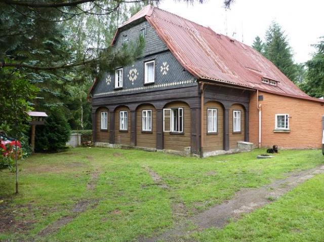 Atostogoms nuomojami namai U Kacoura in der Nähe von Kyjov Tal, Krasna Lipa, Böhmische Schweiz Böhmische Schweiz Čekija