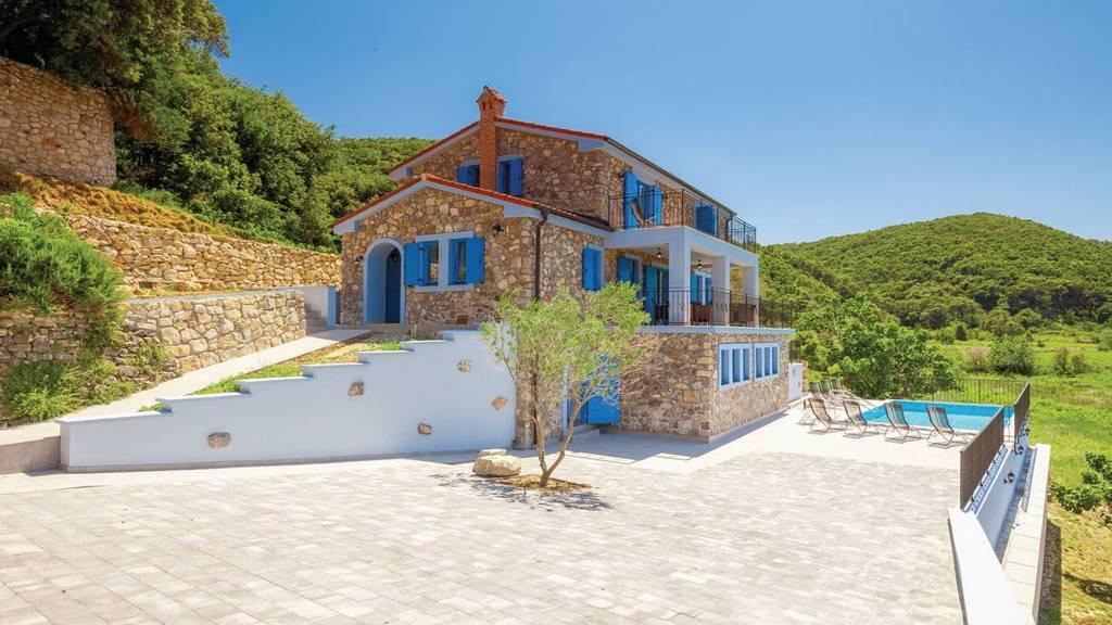 Atostogoms nuomojami namai VILLA LAPIDA, Supetarska Draga, Insel Rab Kvarner Bucht Inseln Kroatija