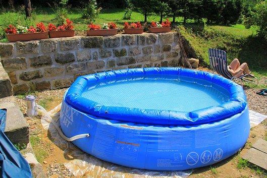 Ferienhaus in jetrichovice b hmische schweiz mit pool for Pool 3m durchmesser aufblasbar