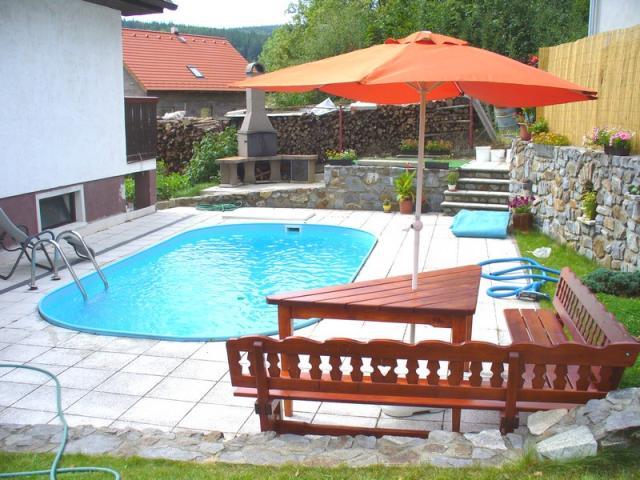 Casa di vacanze Krasetin CHT mit Pool und Sauna, Krasetin, Cesky Krumlov Südböhmen Repubblica Ceca