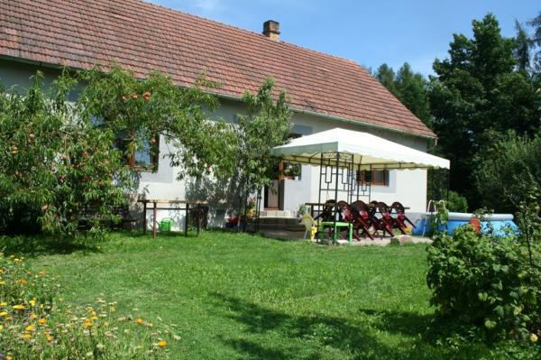 Chata, chalupa Cervena Lhota NN, Cervena Lhota, Jindrichuv Hradec Südböhmen Česká republika