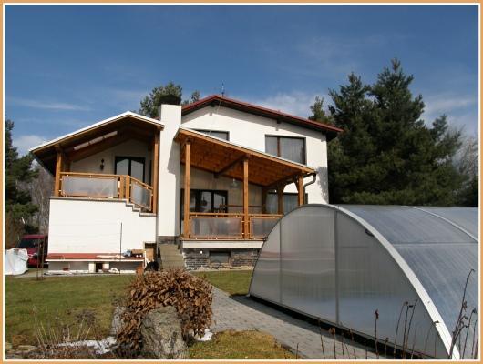Ferienhaus Cervenka mit Segelboot in Jetetice, Orlik Stausee Orlik Stausee Tschechien