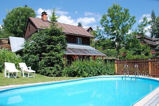 Ferienhaus In Horní Rokytnice, Riesengebirge Mit Pool