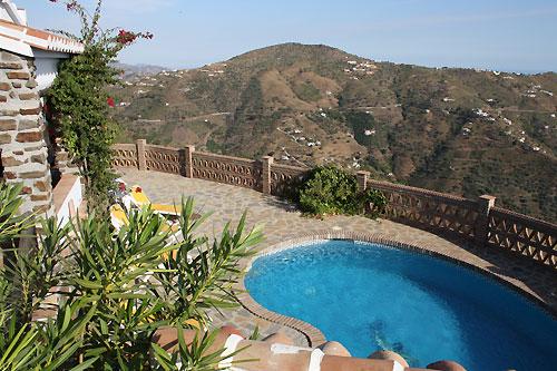dom letniskowy Finca Durillo, Competa, Costa del Sol Andalusien Hiszpania