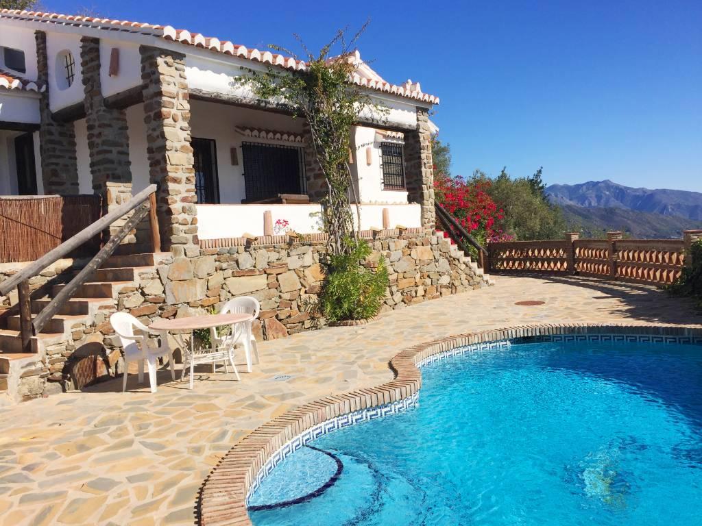Atostogoms nuomojami namai Finca Durillo, Competa, Costa del Sol Andalusien Ispanija