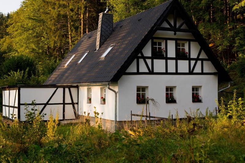 Atostogoms nuomojami namai Dlouhy Dul II, Krasna Lipa, Böhmische Schweiz Böhmische Schweiz Čekija