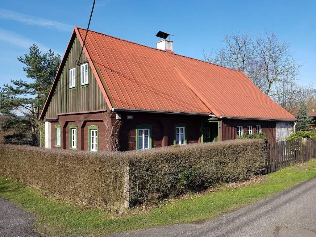 dom letniskowy Holzhaus Janov, Janov, Böhmische Schweiz Böhmische Schweiz Czechy