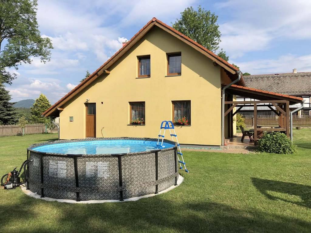 prázdninový dom Arnoltice II mit Pool, Arnoltice, Böhmische Schweiz Böhmische Schweiz Česko