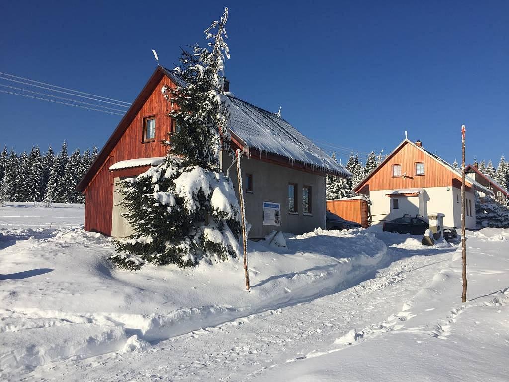 prázdninový dom Na bílé stopě 101, Horni Blatna, Erzgebirge Erzgebirge Česko