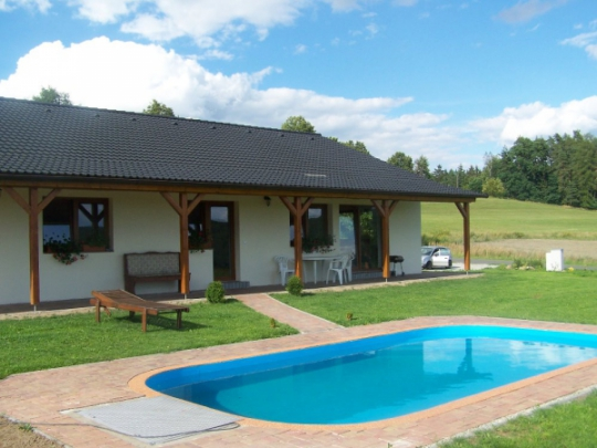 Maison de vacances Svaty Jan mit Aussenpool und Sauna, Kvetov - Svaty Jan, Orlik Stausee Orlik Stausee République tchèque