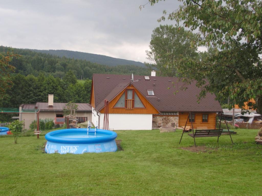 Ferienhaus in markousovice riesengebirge mit pool for Ferienhaus mit pool